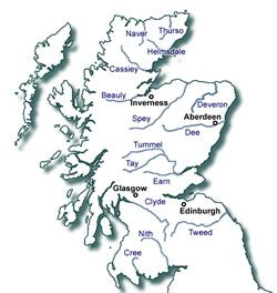 Rivers in Scotland