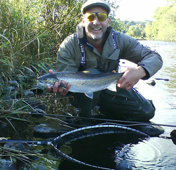 Salmon and Sea Trout fishing in Scotland on the River Tweed with Tweedguide